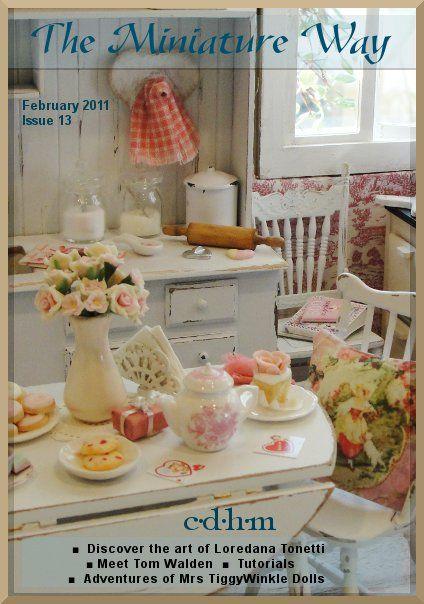 CDHM The Miniature Way magazine, February 2011, Issue 13