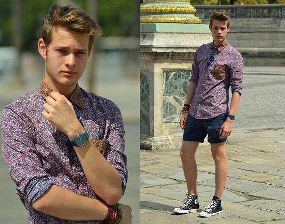 ►Tres tendencias en un vistazo. ▬Impreso bolsillo ▬Gafas redondeo  ▬Short Shorts