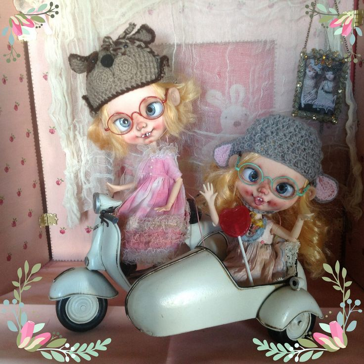 https://flic.kr/p/H7atnA   New Crazy custom blythes   Private collection Here are my new handmade custom Blythe