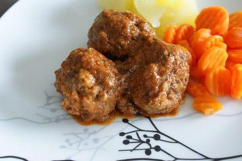 Boulettes sauce tomate au thermomix de Vorwerk