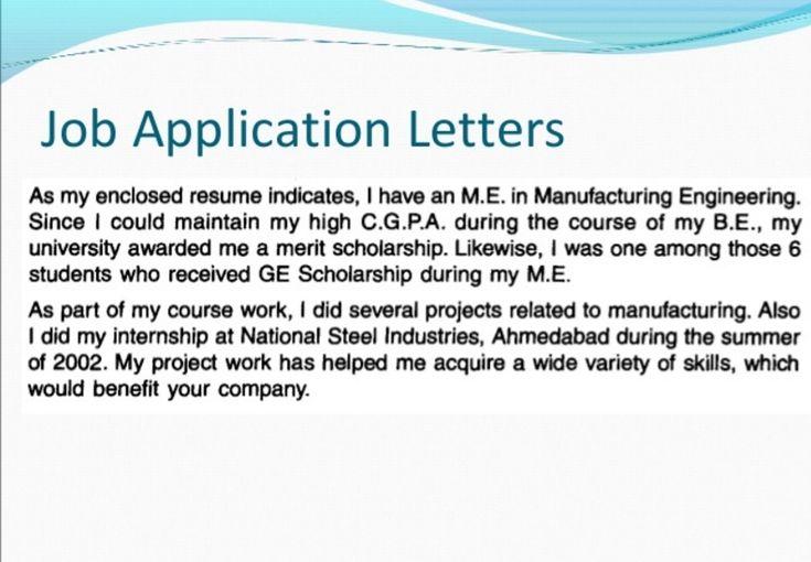 job application letter Work Pinterest Formal, Template and - webmaster job description