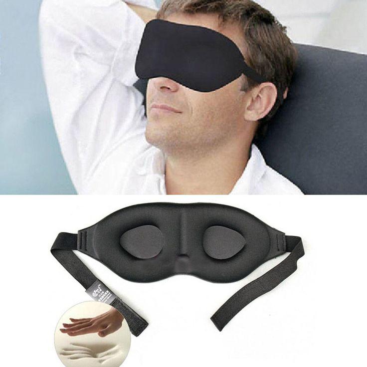 Perisai mata Travel Tidur Masker Mata 3D Memory Foam Padded Blindfold Naungan Penutup Tidur untuk Kantor Pabrik Harga