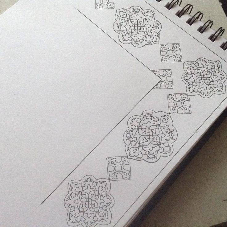 #designing  #borderdesign  #biomorphicpattern  #surfacepattern  #islamicdesign  #flowers  #islamicart  #uzbekistan  #исламскоеискусство  #арабески  #искусствоислама