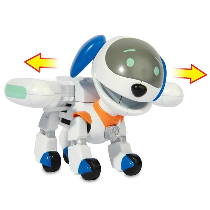 Time for a ruff, ruff rescue with RoboDog! This action-packed K9 is a robo pup…