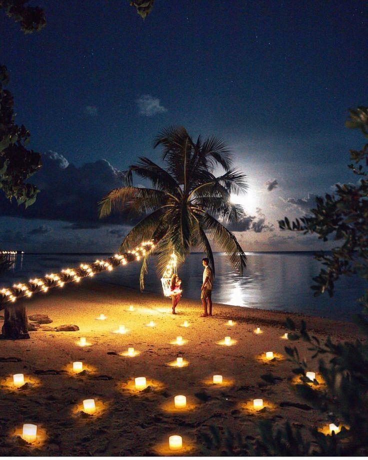 Открытка романтического путешествия
