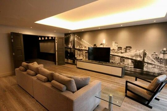 Bespoke cinema / games room