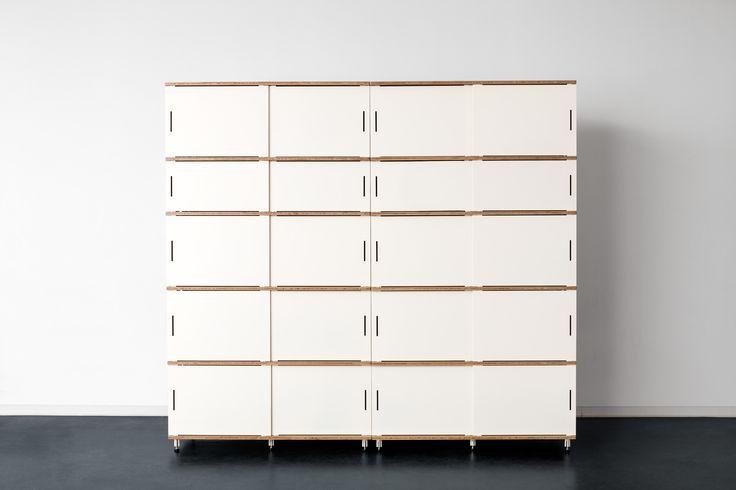 7 best stow storage system meuble de rangement stow - Modular bedroom furniture systems ...