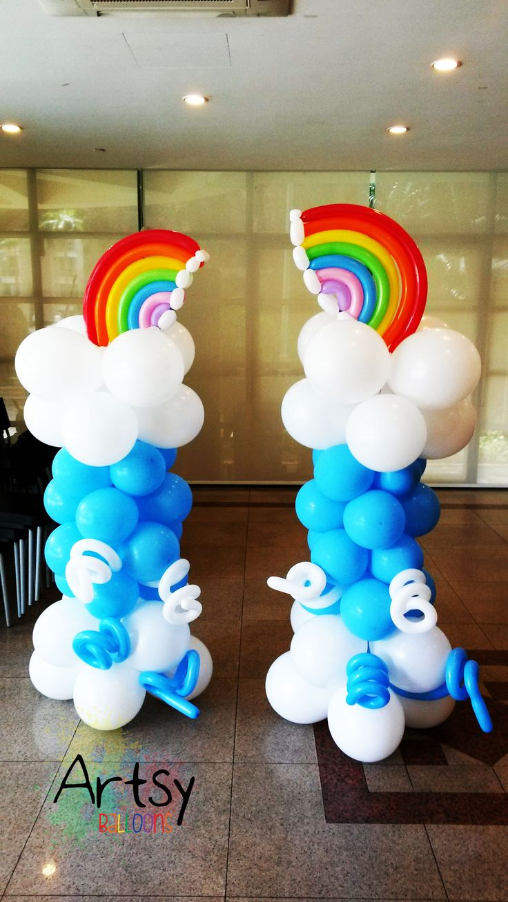 148 best images about Balloon Columns on