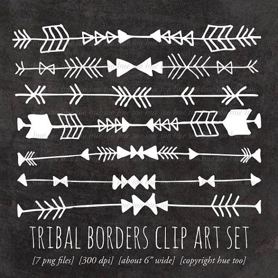 Tribal borders, arrow/geometric tattoo ideas