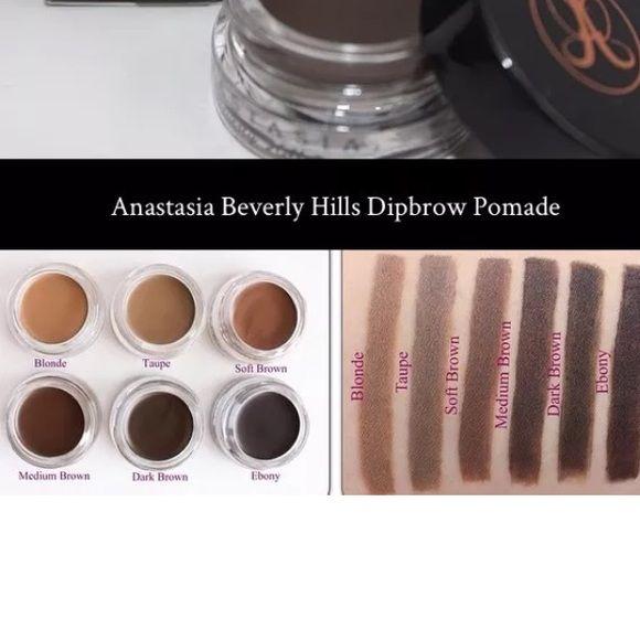 anastasia beverly hills makeup. anastasia dip brow dipbrow pomade gel-auburn, blond or chocolate-choose your. beverly hills pomademakeup makeup w