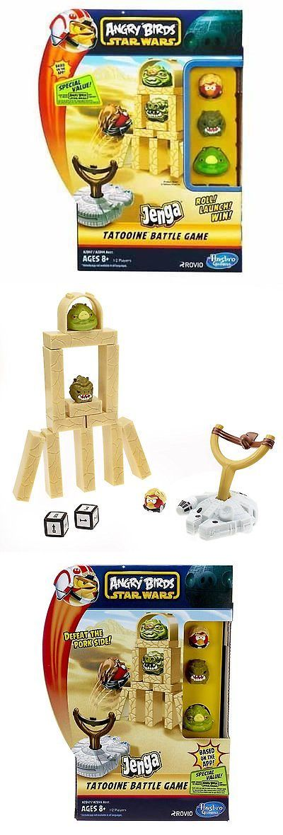Plastic Action Games 165969: New ! Angry Birds Star Wars Fighter Pods Jenga Tatooine Battle Game -> BUY IT NOW ONLY: $33.04 on eBay!