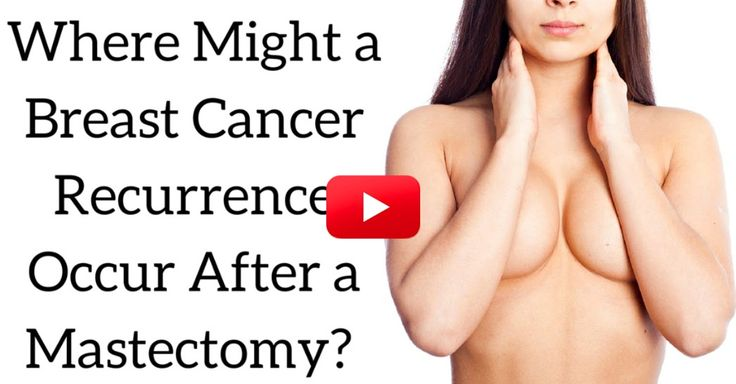 Signs of recurring breast cancer