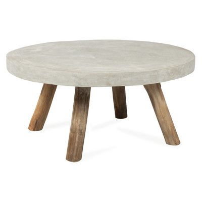 Concrete Coffee Table Concrete And Timber