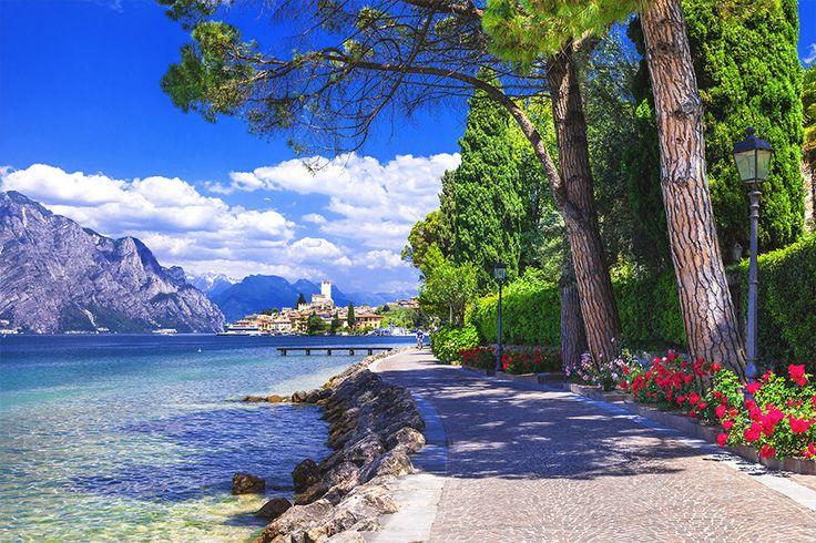 4 Tage im 4*Hotel Dogana #Italien #Gardasee #sommer #warm #pool # urlaub #panorama #nature #holiday #travador #travadoral