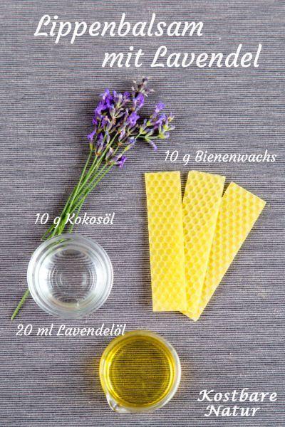 Billiger Lippenbalsam aus dem Supermarkt enthält oft bedenkliche Inhaltsstoffe und schadet mehr als er nutzt. Die natürliche Alternative ist schnell selbst gemacht!