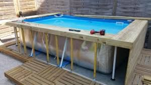 Best 20 piscine hors sol ideas on pinterest swimming - Habillage piscine hors sol intex ...