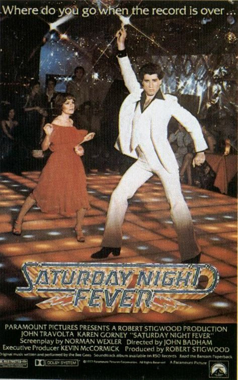 Saturday Night Fever john #travolta #beegees #disco