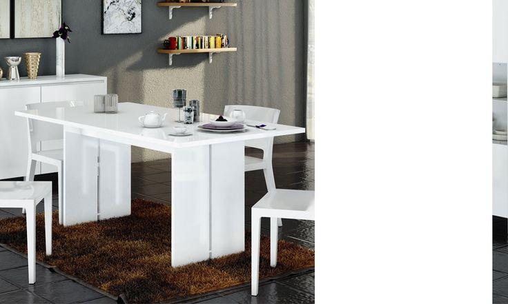 les 25 meilleures id es de la cat gorie cuisine blanc laqu en exclusivit sur pinterest. Black Bedroom Furniture Sets. Home Design Ideas