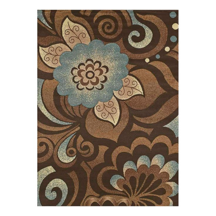 United Weavers 420 20760 Urban Trends Area Rug, Kashmir Blue 5x7 and 7x10, $119.00 - $239.00