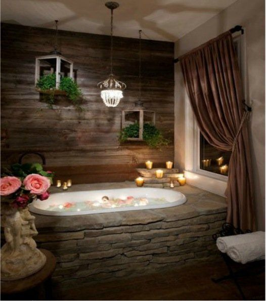 Best Toilettes Y Baños Images On Pinterest Bathroom Beautiful - Master bathroom bathtubs