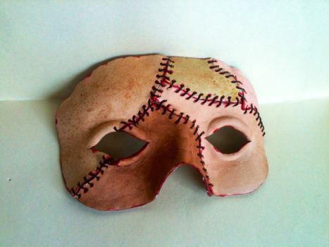 Frankenstein's Monster mask by Radioactive-buttrfly