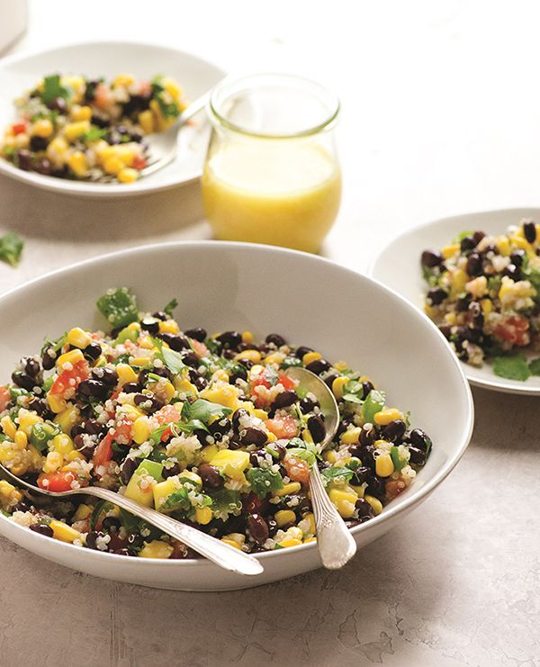 Vegan Ensalada Azteca from The China Study Cookbook by LeAnne Campbell (oil-free…