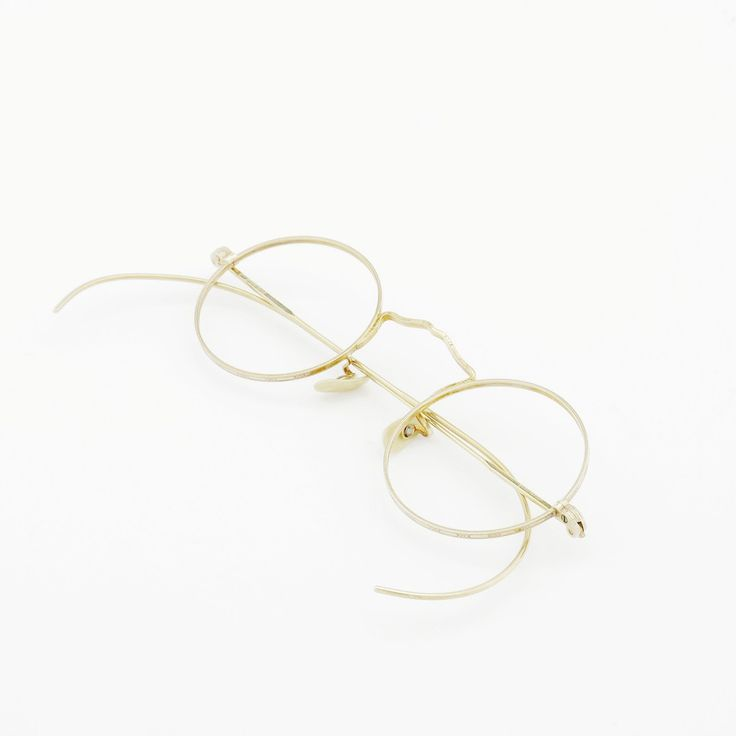 American Optical vintage Yellow Gold | PonMegane
