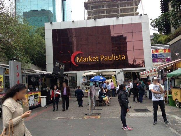 Shopping Market Place, na Avenida Paulista (Foto: Kleber Tomaz / G1)