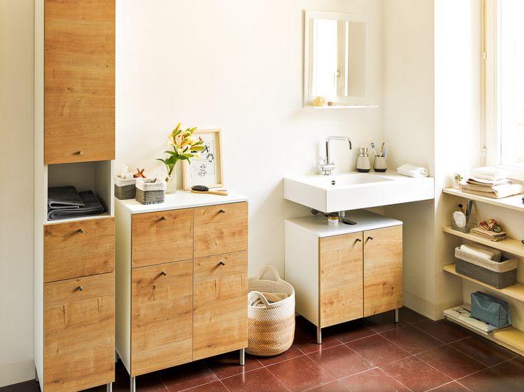 Micasa Badezimmer mit Kommoden aus dem Programm SAMU