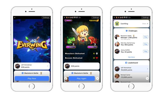 Post-App Store developer platform Blackstorms first showcase instant games launch on Facebook #Startups #Tech