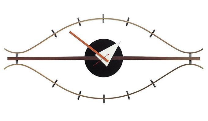 Nelson Eye Clock by VitrA #luvocracy #georgenelson #design