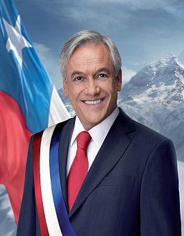 Miguél Juan Sebastián Piñera Echenique, Trigésimo quinto Presidente de Chile  2010 - 2014