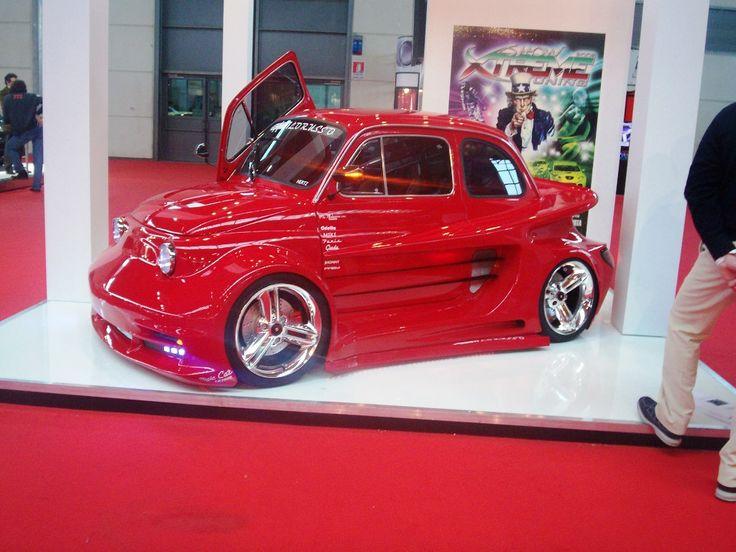Pimped out Vintage FIAT 500