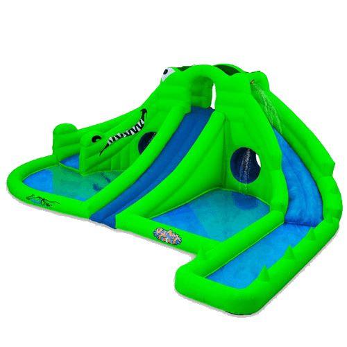 Название: Надувной водный батут с бассейном «Изумрудное море» Категория: Надувные аттракционы Описание:   Чтобы ваша водная горка выделялась из линейки всех остальных подобных аттракционов, достаточно выбрать конструкцию необычайно яркого цвета, например