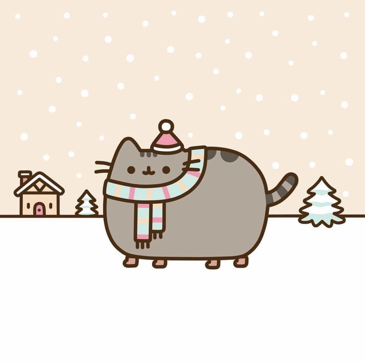 Pusheen Navidad