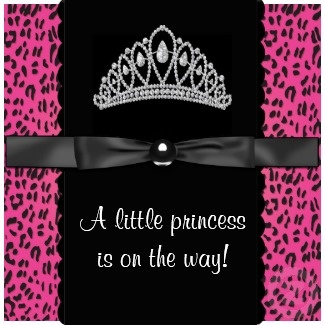 baby shower invitations for girls - Google Search