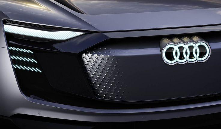 Audi Previews Shanghai-Bound E-Tron Sportback Crossover Concept