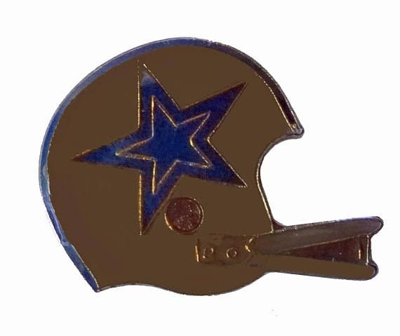 """DALLAS COWBOYS vintage enamel pin lapel cloisonne badge Texas NFL football by VintageTrafficUSA  14.00 USD  A vintage Dallas Cowboys pin! Excellent condition. Measures: approx 1"""" Add inspiration to your handbag tie jacket backpack hat or wall. Have some individuality = some flair! -------------------------------------------- SECOND ITEM SHIPS FREE IN USA!!! LOW SHIPPING OUTSIDE USA!! VISIT MY STORE FOR MORE ITEMS!!! http://ift.tt/1PTGYrG FOLLOW ME ON FACEBOOK FOR SALE CODES AND UPDATES…"""