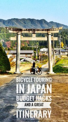 Bicycle Touring, bikepacking or backpacking in Japan  Where to go, what to see and how to travel Japan off-the-beaten-path, by bike or not.  A great itinerary for adventure lovers and nature freaks  #roadtrip #bicycletouring #bicycletravel #worldbybike #cycling #cicloturismo #bikepacking #slowtravel #offthebeatenpath #travel #Japan #Kyushu #Honshu #Shikoku
