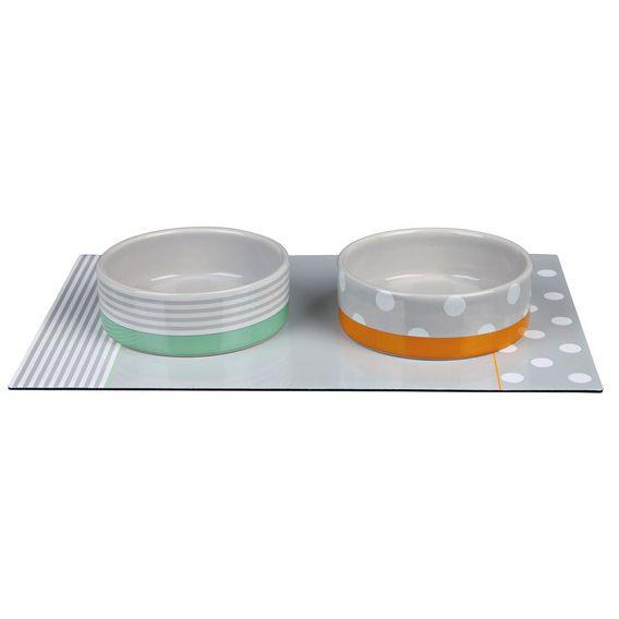 TRIXIE Edition 40 - Zestaw misek ceramicznych z limitowanej edycji z okazji 40 lecia firmy
