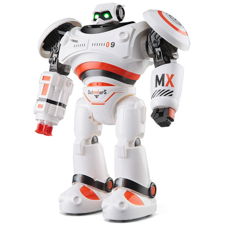 $65.00 JJRC R1 AD Police Files Programmable Combat Defender Intelligent RC Robot