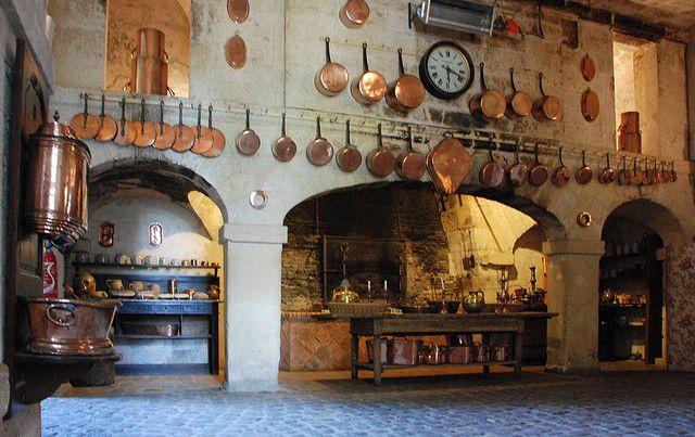 Kitchen - Chateau de Brissac