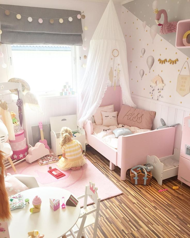 Little Girl Bedroom #24: 1000+ Ideas About Little Girl Bedrooms On Pinterest | Toddler Princess Room, Girls Bedroom And Girls Reading Nook