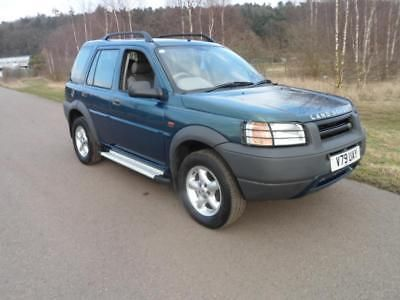 eBay: 1999 Land Rover Freelander 2.0 XEdi 50th anniversary spares or repair LOW MILES