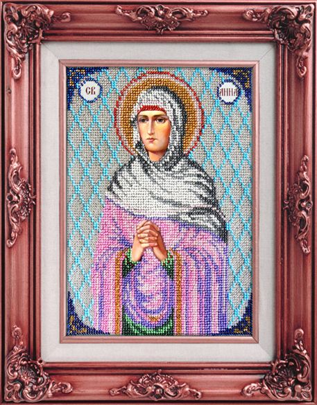 Вышиваем Бисером L-48 «Святая Анна»