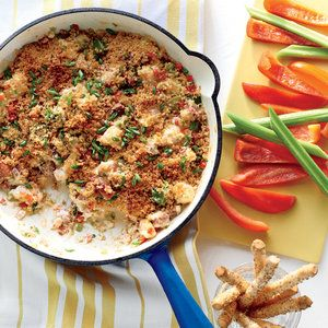 Shrimp-and-Andouille Gumbo Dip