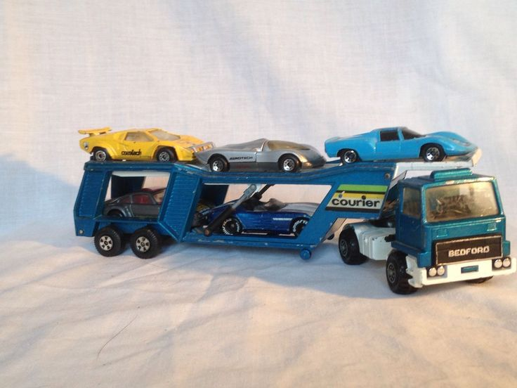 For Sale 1980 Matchbox Lesney Superkings K1 10 Car Transporter Die Cast And Cars Matchbox Diecast Pickup Trucks