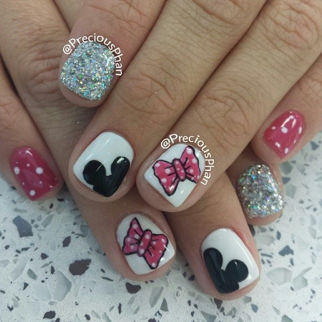 53 best images about Cute Disney nail ideas on Pinterest