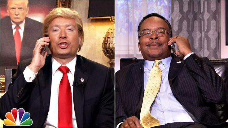 Donald Trump & Ben Carson Watch Democratic Debate