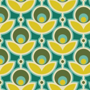 Joel Dewberry - Notting Hill Home Dec Sateen - Primrose in Basil